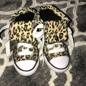 Shoes - •Collection'O• leopard hi-top Sneaker